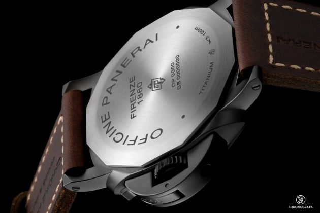 Panerai Luminor 1950 3 Days Titanio DLC PAM00617