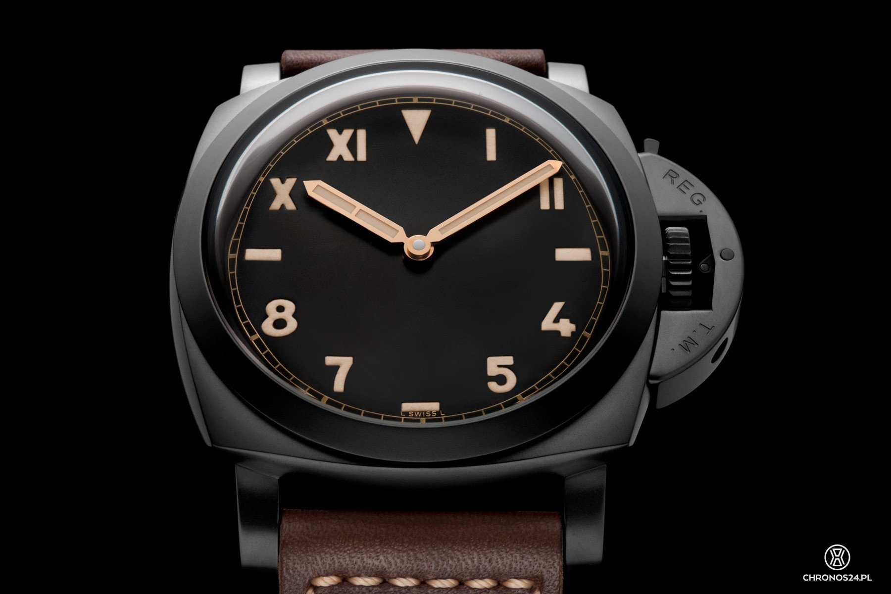 Officine Panerai Luminor 1950 3 Days Titanio DLC [cena]