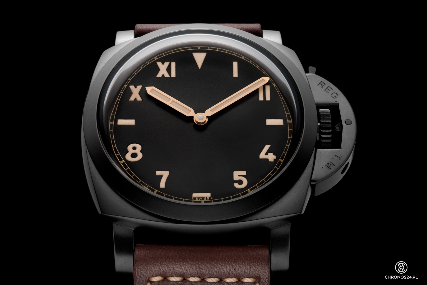 Panerai Luminor 1950 3 Days Titanio DLC PAM00629