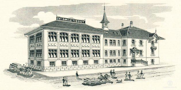 Budynek Tissot - 1907 rok