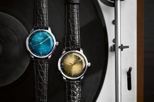 Glashütte Original Sixties Iconic Collection - Golden i Aqua