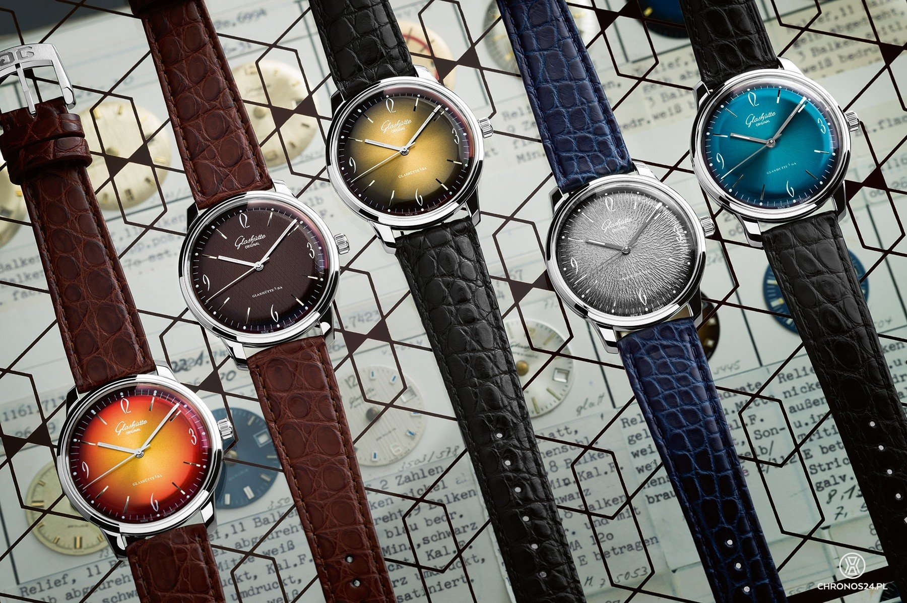 Glashütte Original Sixties Iconic Collection