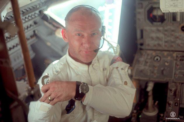 Buzz Aldrin i jego Speedmaster