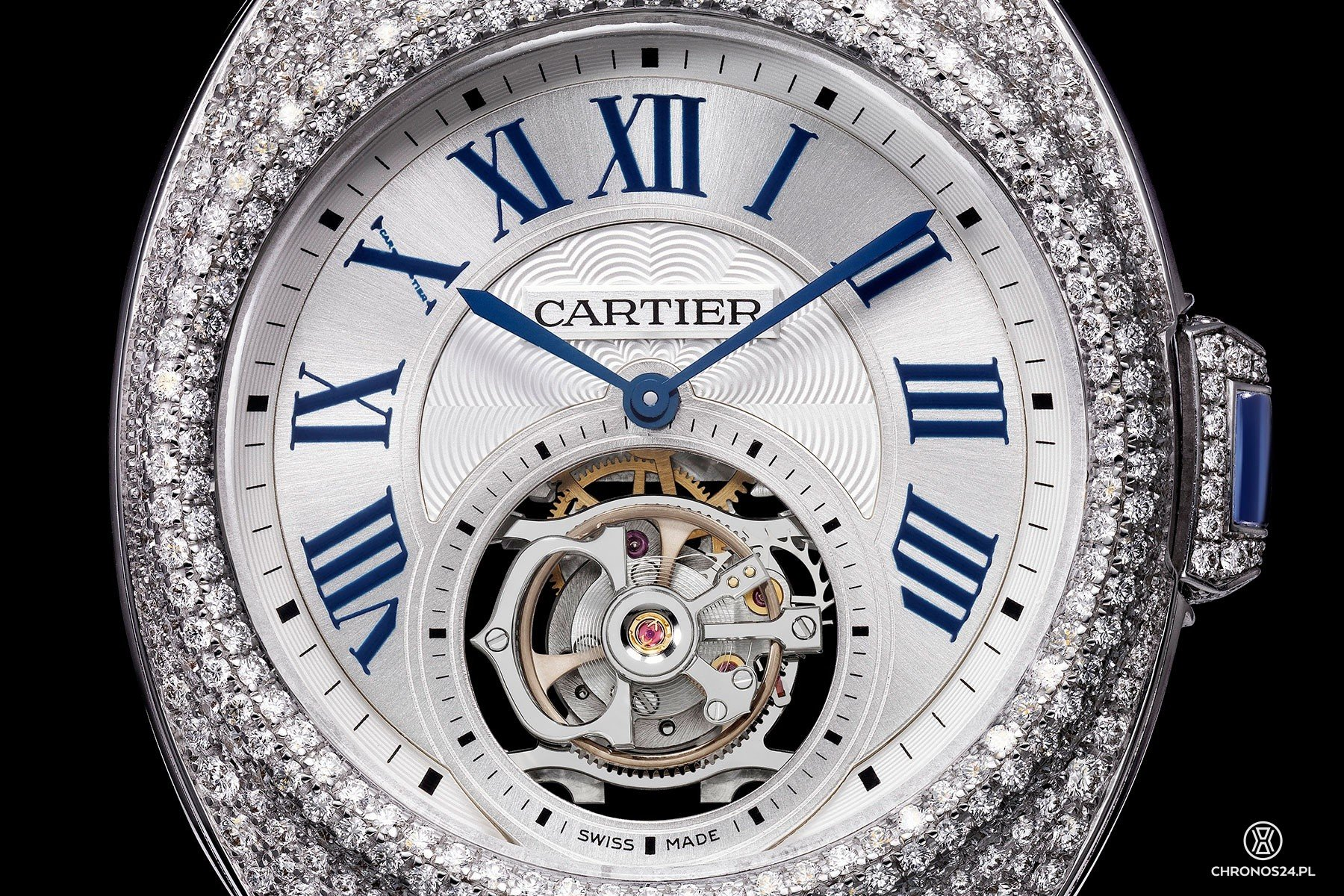 Cartier Clé de Cartier Flying Tourbillon