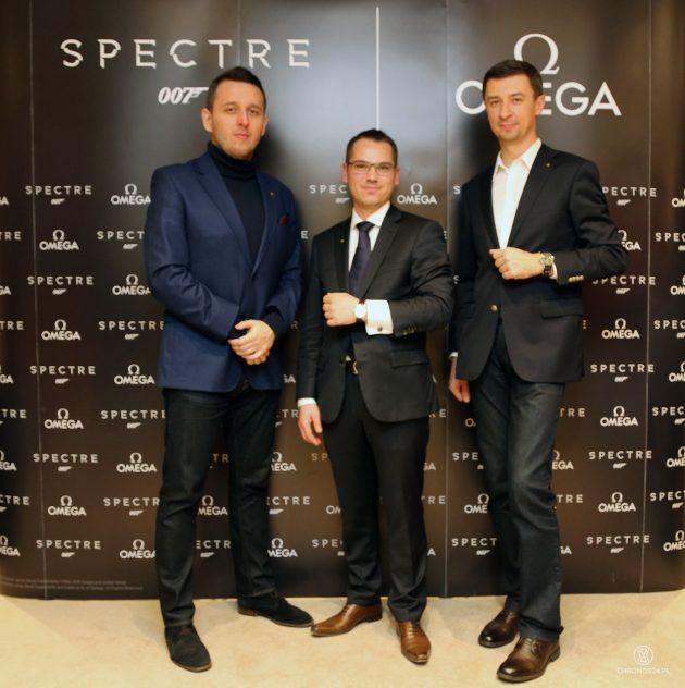 Od lewej: Łukasz Doskocz, Maxime Gourgouillat, Tomasz Kiełtyka