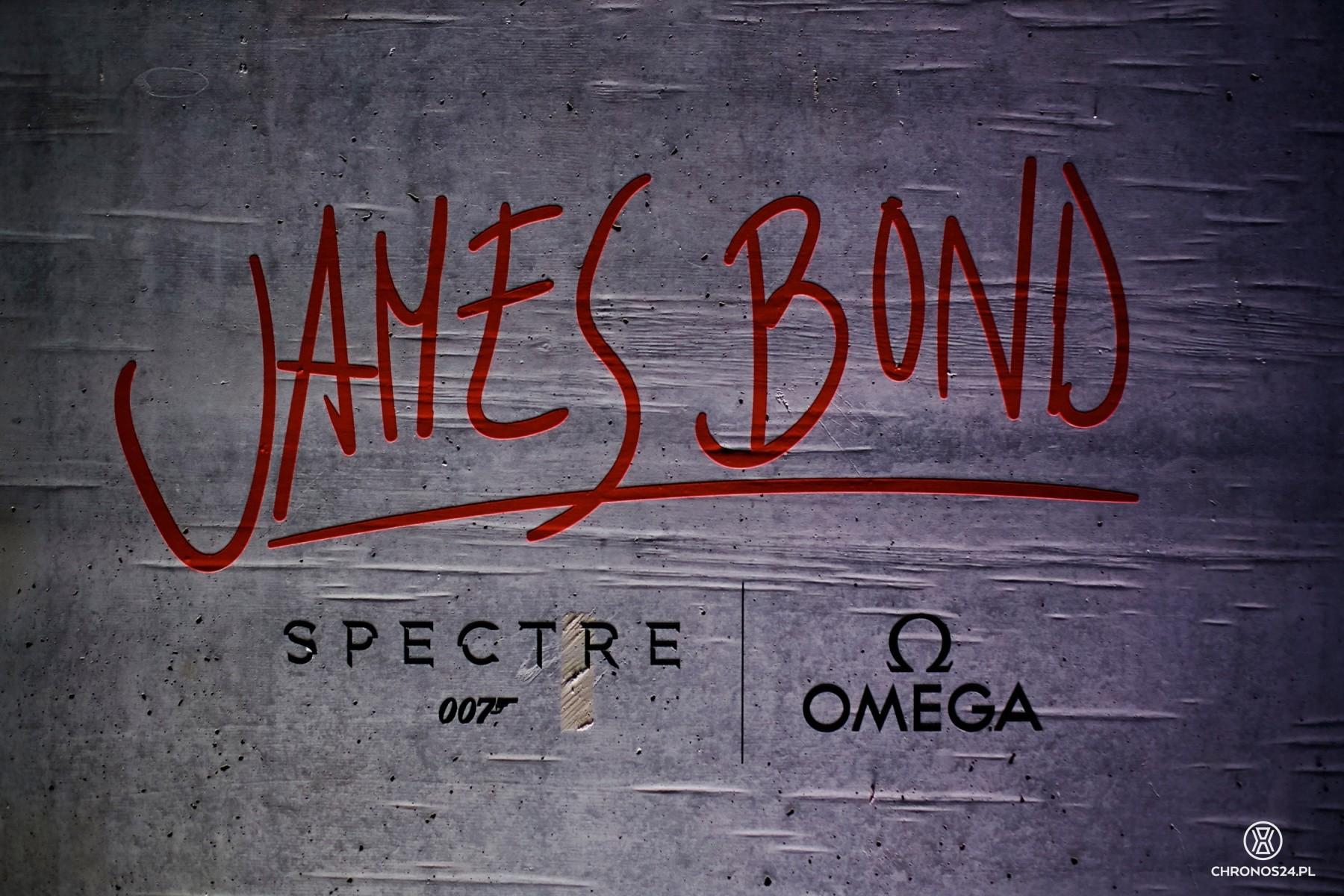 Omega & James Bond party