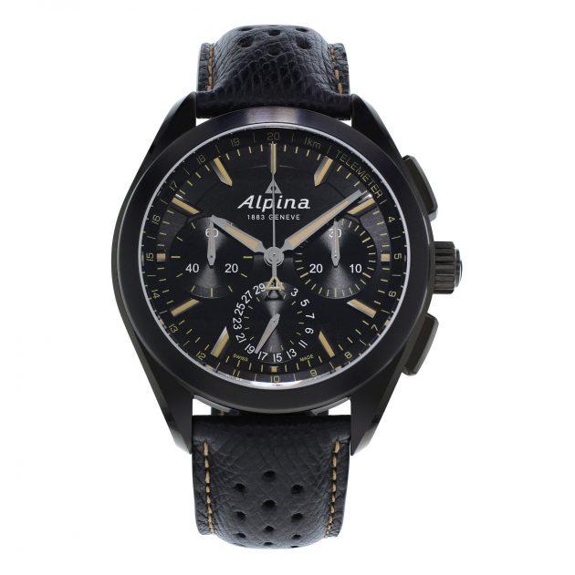"Alpina Alpiner 4 Flyback Chronograph ""Full Black"""