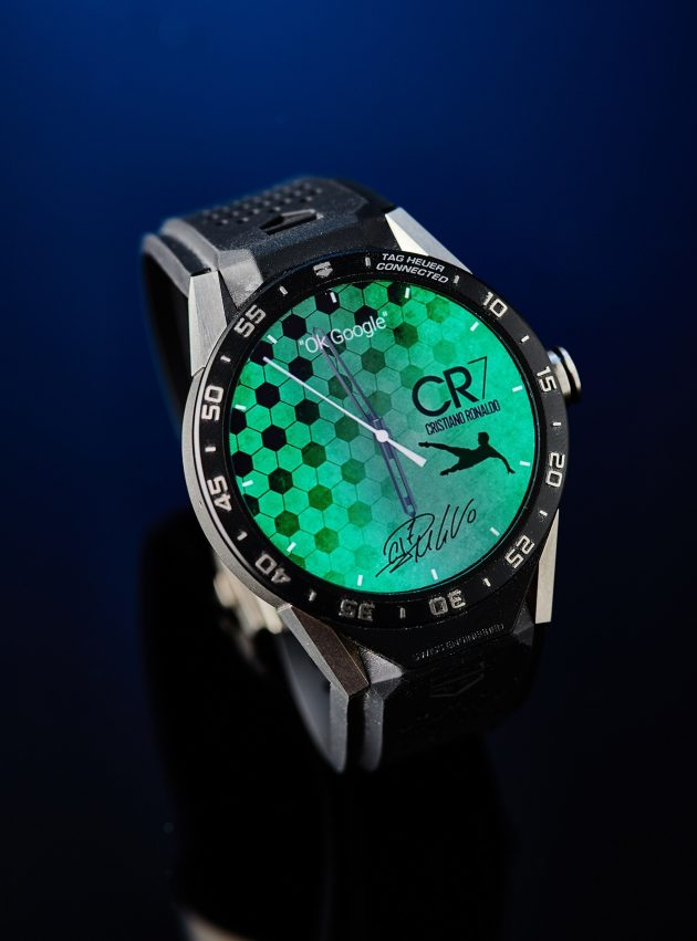 TAG Heuer Connected - tarcza CR7