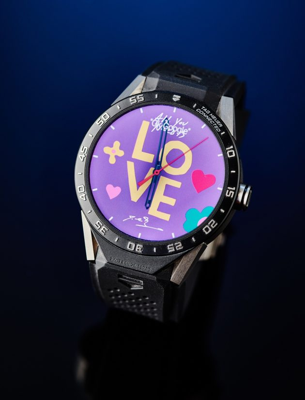 TAG Heuer Connected - tarcza J-C Biver