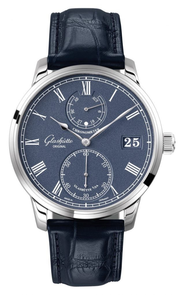 Glashütte Original Senator Chronometer Blue