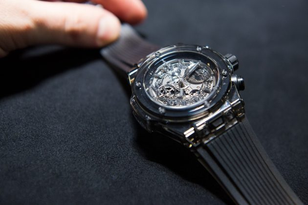Hublot Big Bang Sapphire All Black