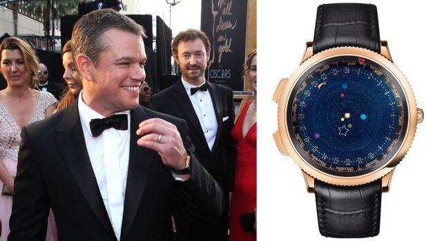 Matt Damon i Van Cleef & Arpels Midnight Planétarium