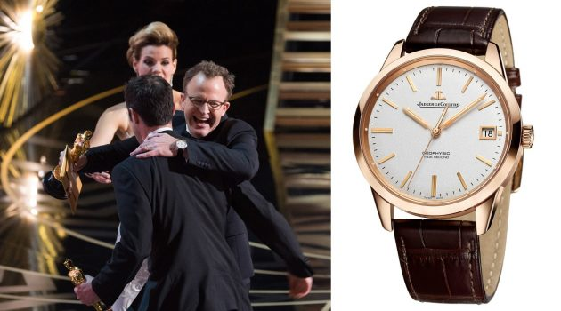 Tom McCarthy i Jaeger-LeCoultre Geophysic True Second