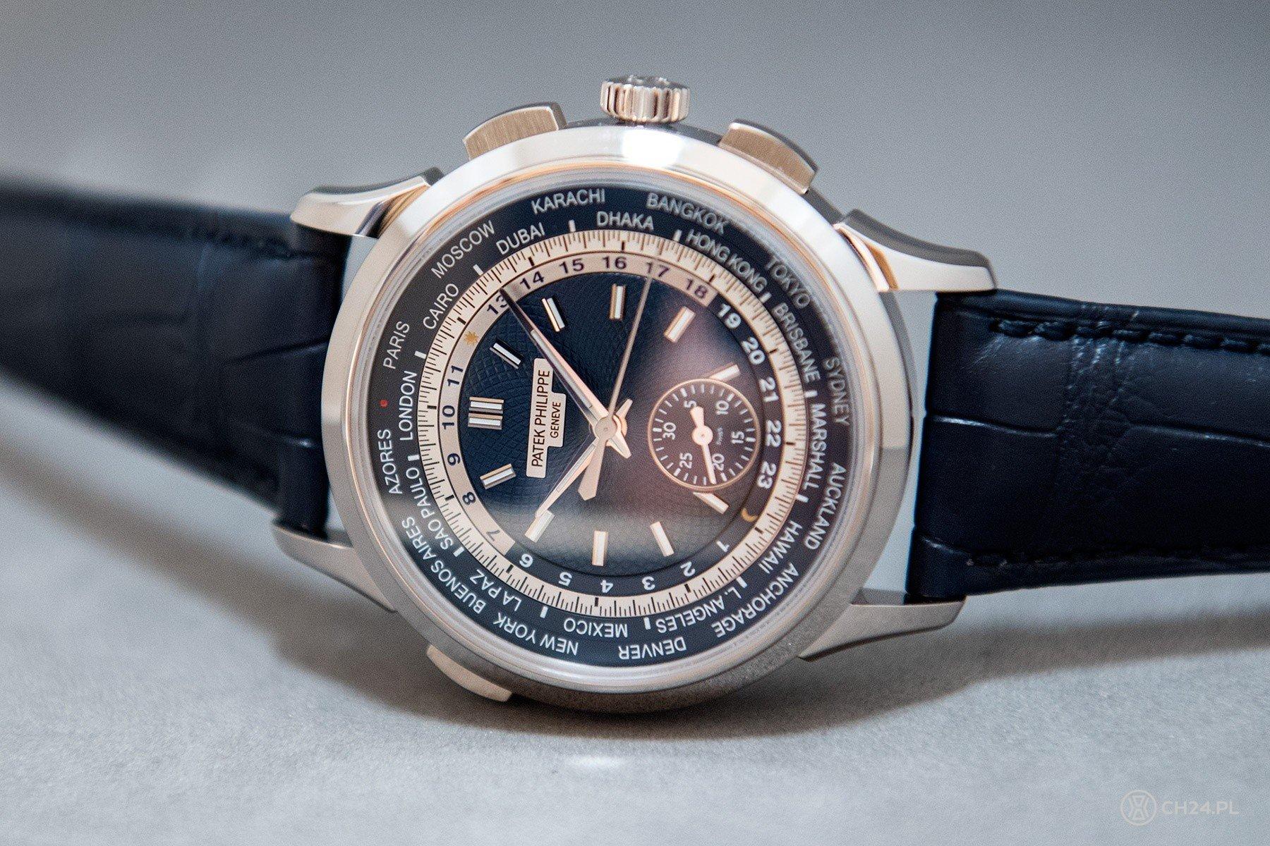Patek Philippe World Time Chronograph Ref. 5930