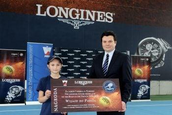 Ada Piestrzyńska i Leszek Pilch (Brand Manager Longines)