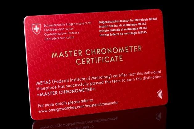Certyfikat Master Chronometer
