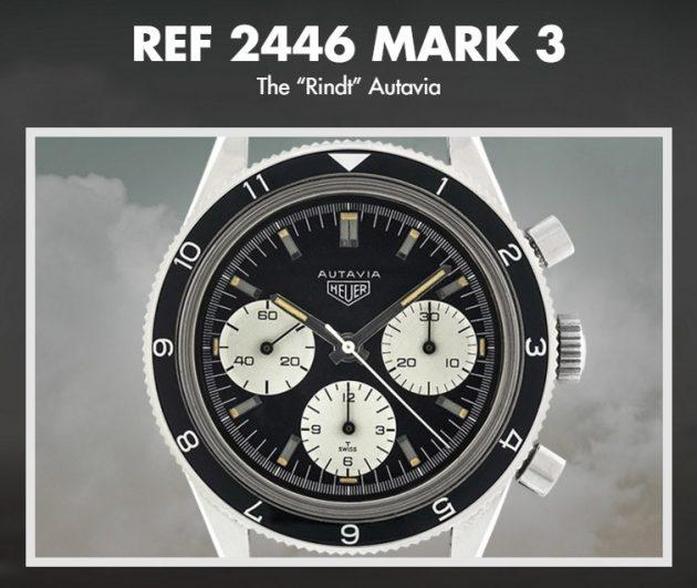 TAG Heuer Autavia Ref. 2446 Mark 3