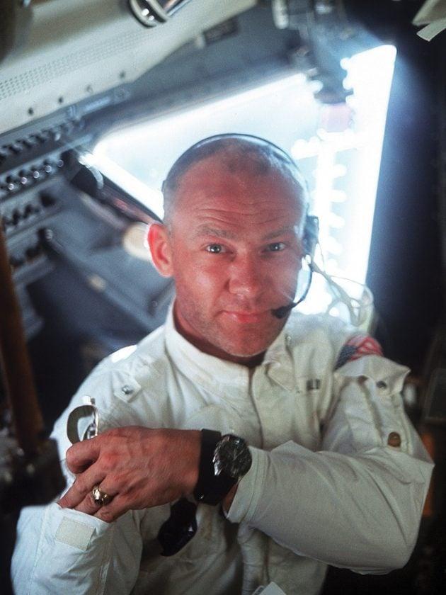 Buzz Aldrin - 1969 rok
