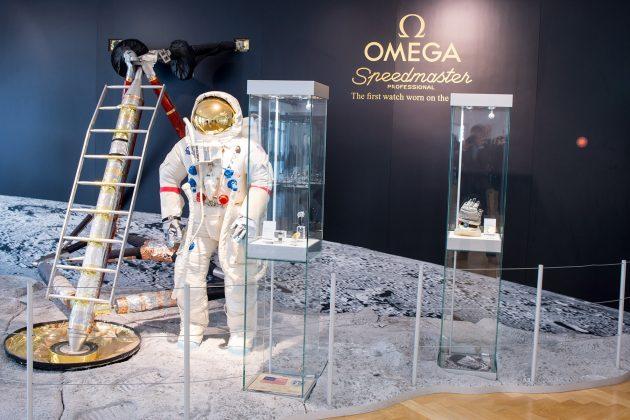Ekspozycja w muzeum Omegi