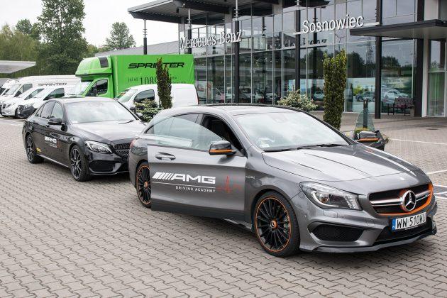 Początek podróży - Mercedes-Benz Sosnowiec
