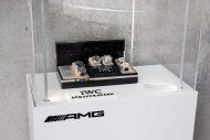 Kolekcja zegarków IWC w siedzibie AMG