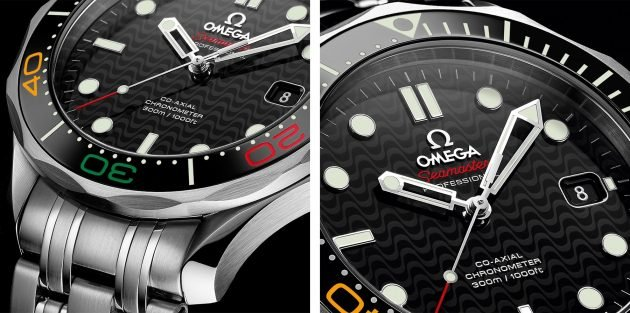 "Omega Seamaster Diver 300M ""Rio 2016"" LE"
