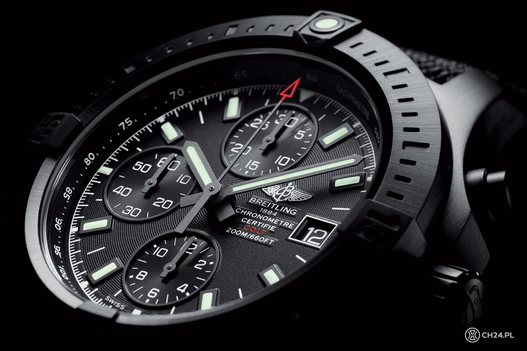 Breitling Colt Chronograph Automatic Blacksteel [video]