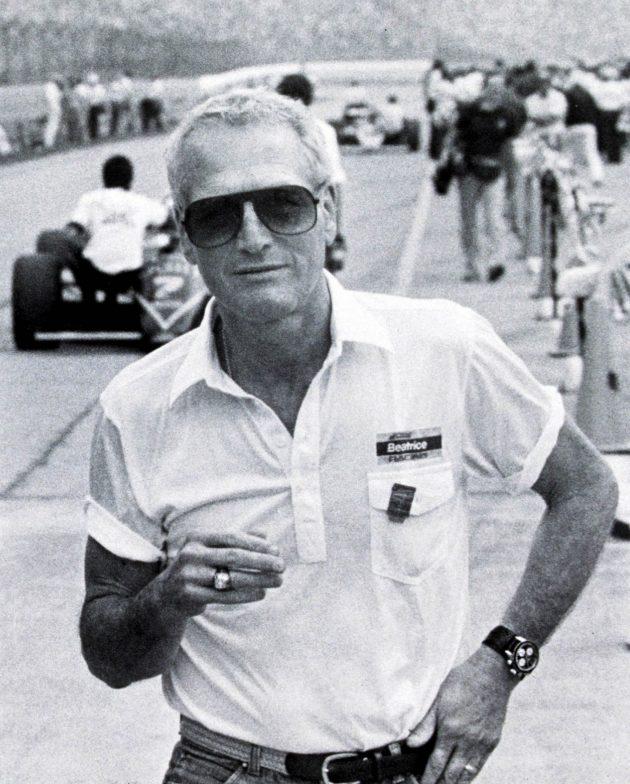 Paul Newman i Daytona podarowana mu przez żonę Joanne Woodard w 1972 / foto: rolexmagazine.com