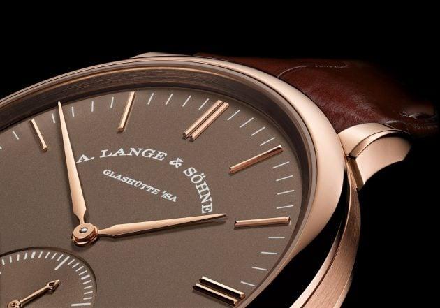 "A. Lange & Söhne Saxonia Automatic ""Terra-Brown"""