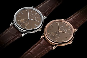 "A. Lange & Söhne Saxonia Automatic ""Terra-Brown"""