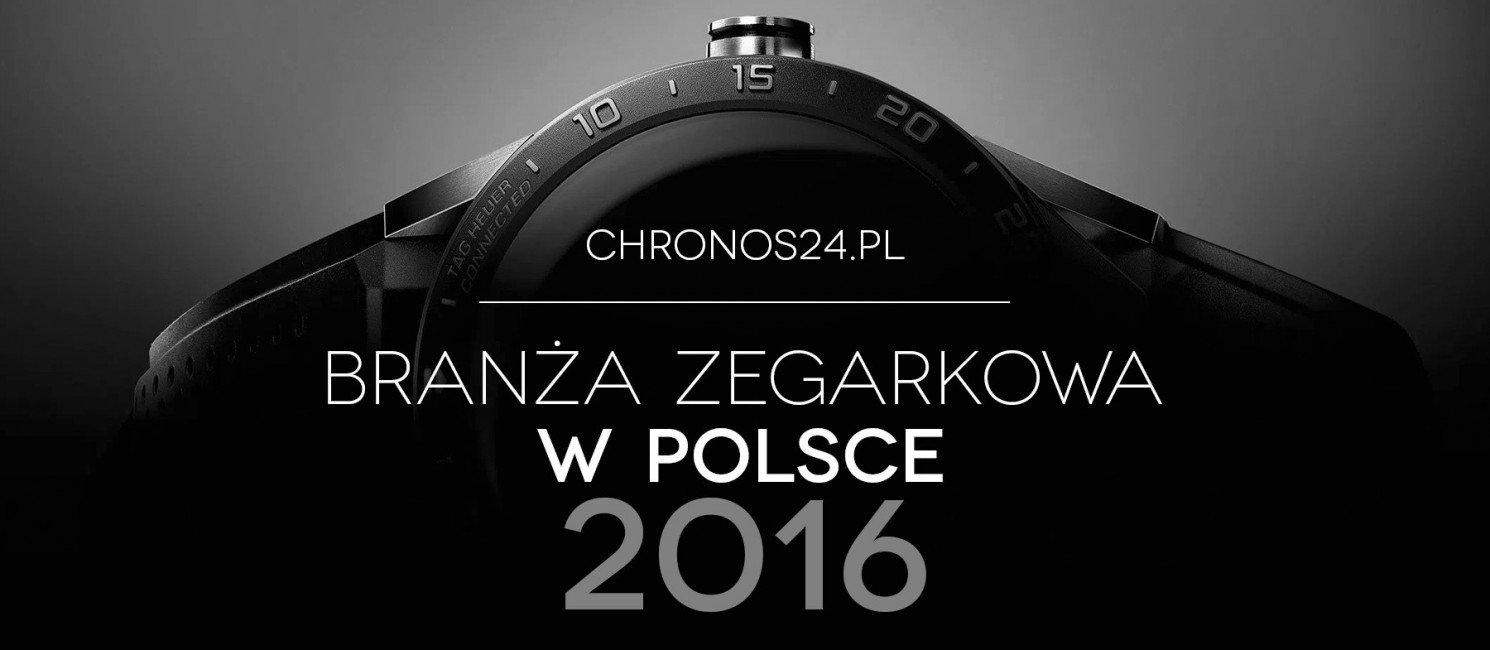 Branża zegarkowa w Polsce 2016