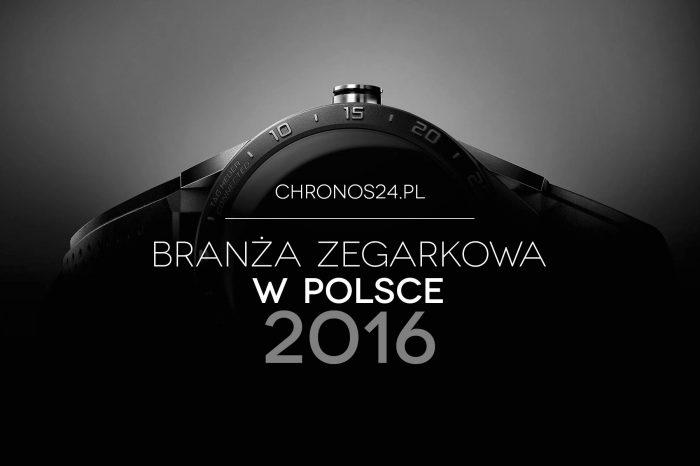 Polski rynek zegarków oczami dystrybutorów i właścicieli salonów sprzedaży w 2016 roku
