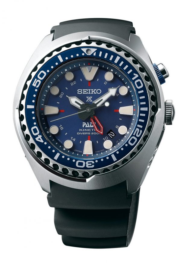 Seiko Kinetic GMT Diver's