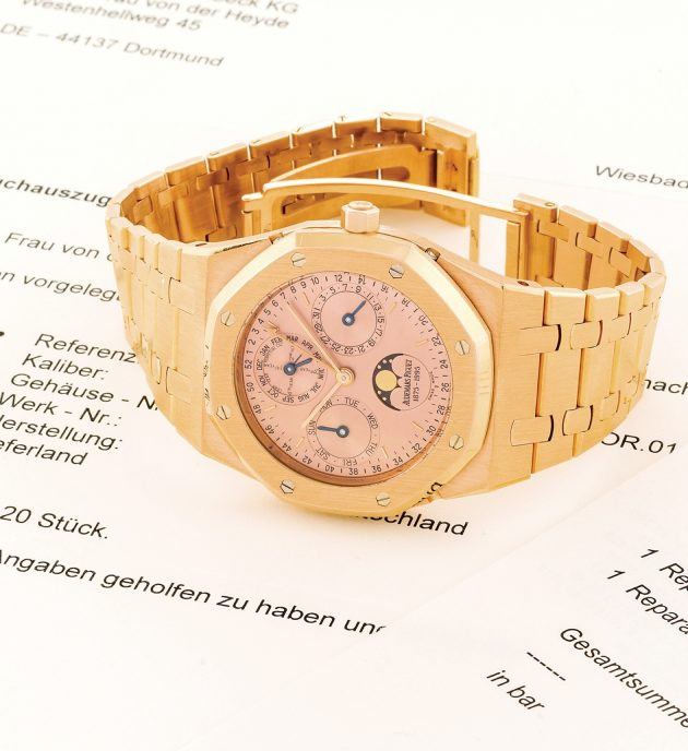 Audemars Piguet Royal Oak Ref. 25810OR z 1992 roku / foto. Antiquorum