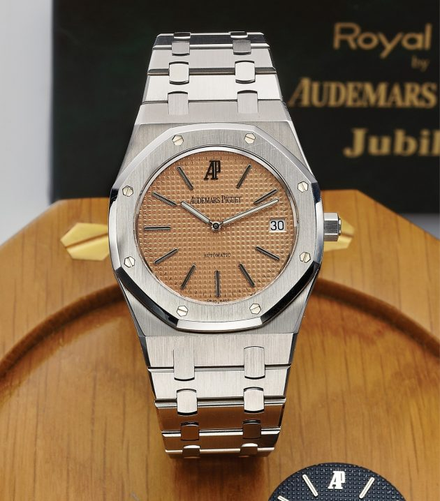 Audemars Piguet Royal Oak Jubilee Edition Ref. 14802ST z lat 90. XX wieku / foto. Antiquorum