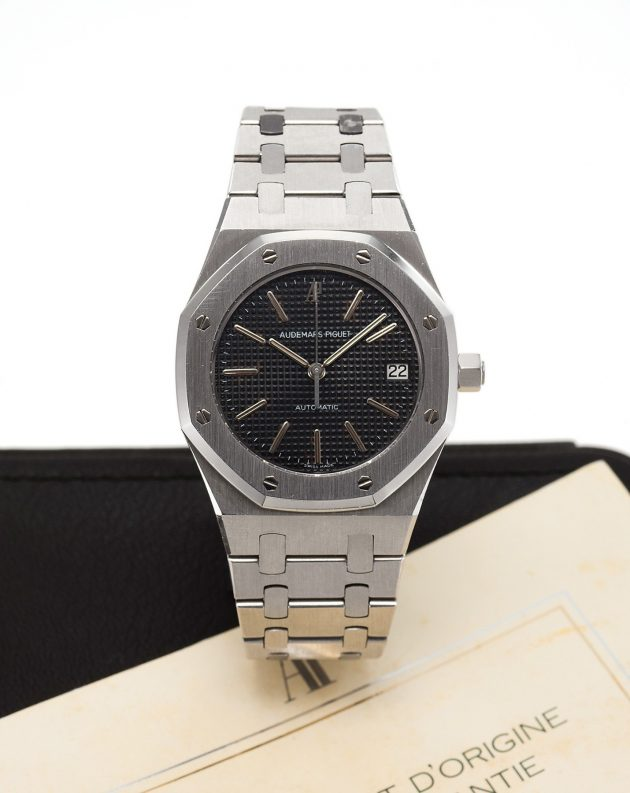 Audemars Piguet Royal Oak Ref. 14332ST z lat 80. XX wieku / foto. Antiquorum