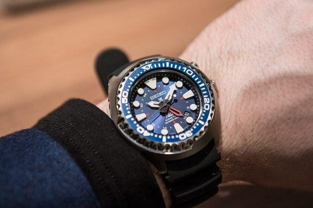 Seiko Kinetic GMT Diver's