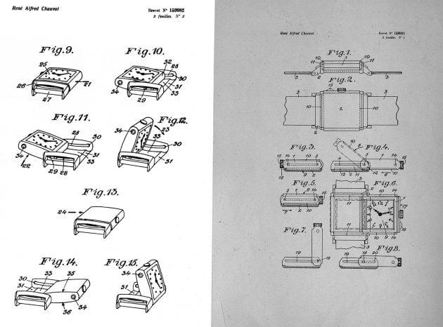 Zgłoszenie patentowe z 1931 roku