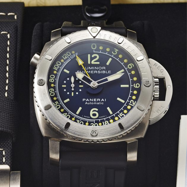 Panerai Luminor 1950 Pangaea Submersible Depth Gauge / foto: Antiquorum