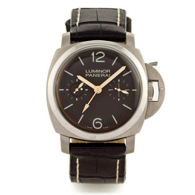 Panerai Luminor 1950 Tourbillon GMT / foto: Antiquorum