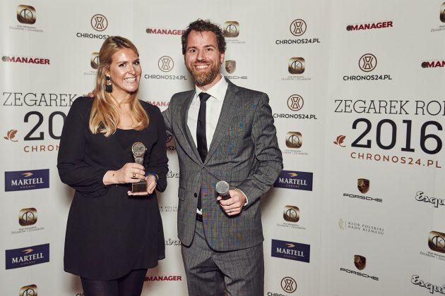 Zegarek Roku 2016 - Sarah Schroeder (Vacheron Constantin) i Frank Geelen