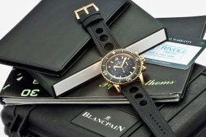 Blancpain Fifty Fathoms Flyback Chronograph von 2009 / Foto: Antiquorum