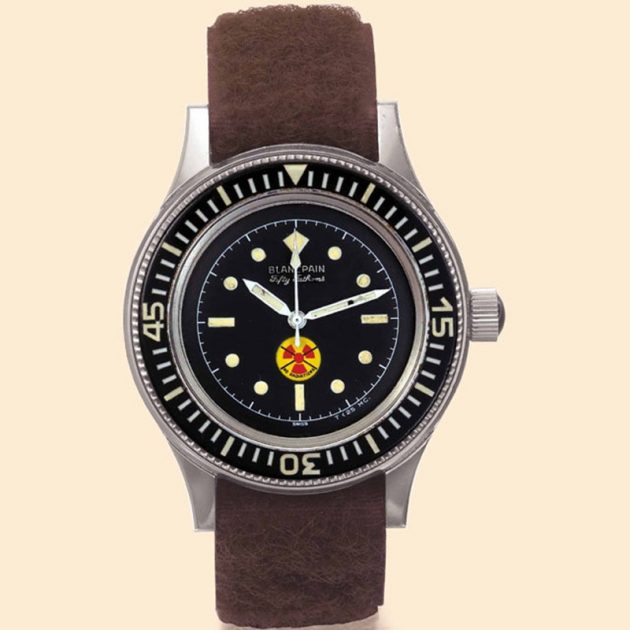 Blancpain Fifty Fathoms für die deutsche Marine / Foto: Antiquorum