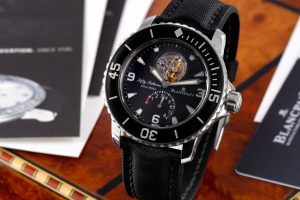 Blancpain Fifty Fathoms Tourbillon aus der Zeit um 2008 / Foto: Antiquorum
