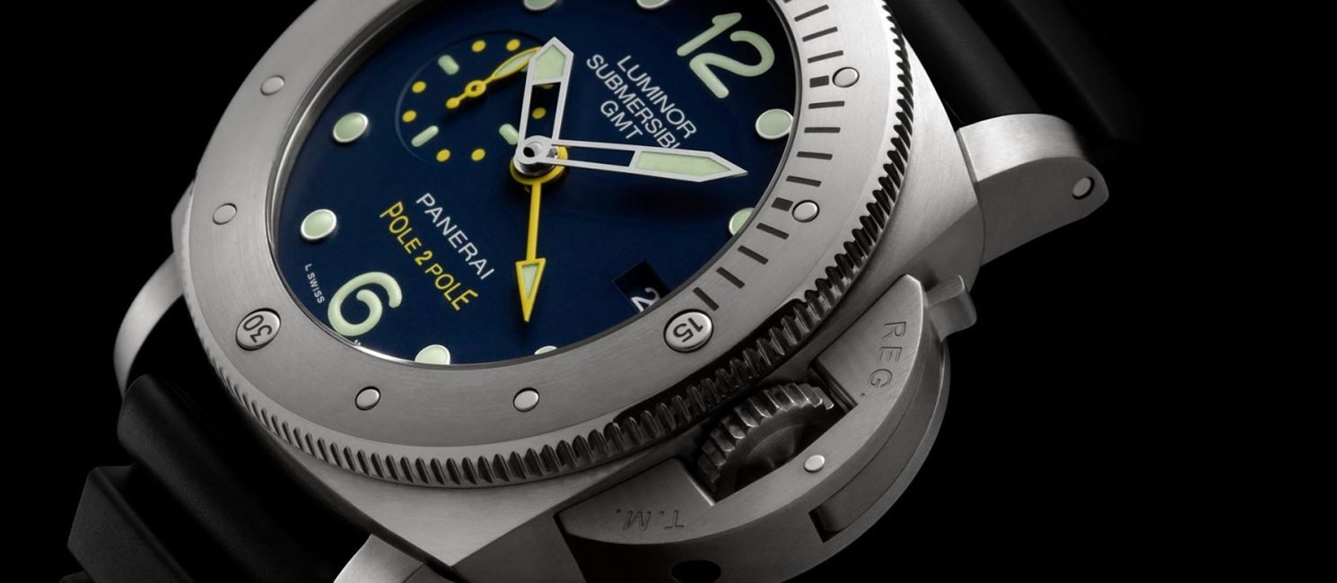 "Panerai Luminor Submersible 1950 3 Days GMT Mike Horn ""Pole2Pole"" Edition"