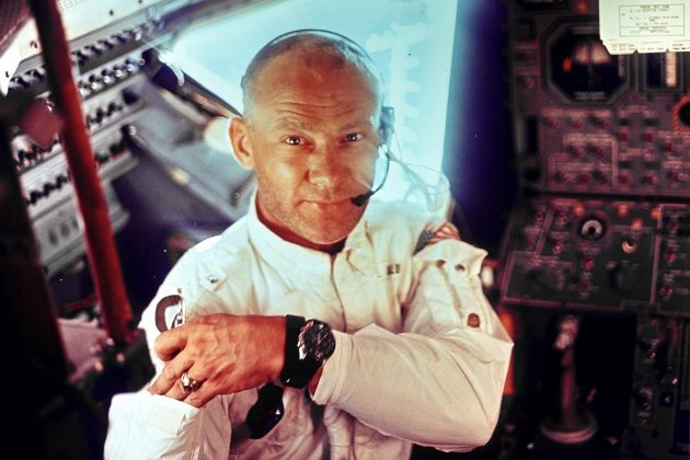"""Buzz"" Aldrin i Speedmaster 105.012"