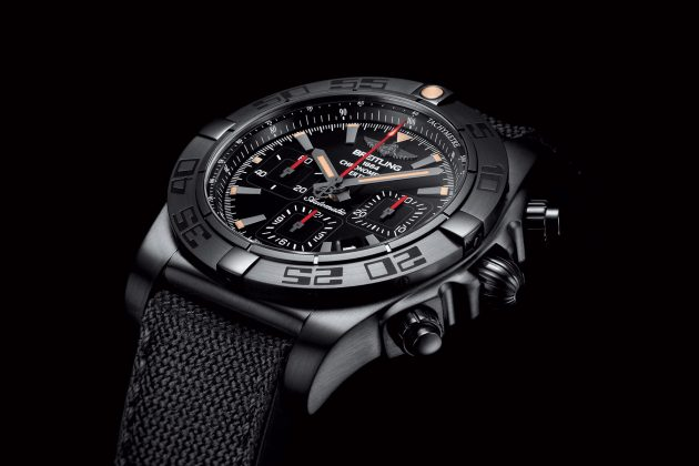 Chronomat GMT Blacksteel