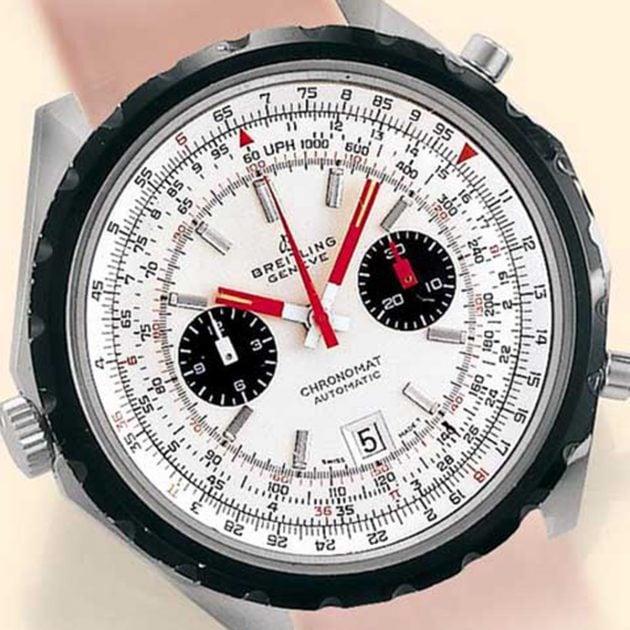 Breitling Chronomat Ref.1808 z lat 70x XX w. / foto: Antiquorum