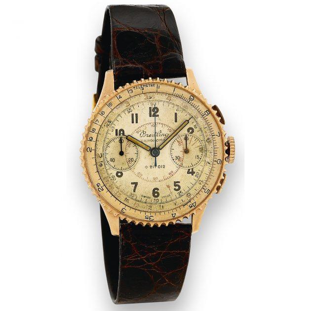 Breitling Chronomat z lat 50. XX w. / foto: Antiquorum