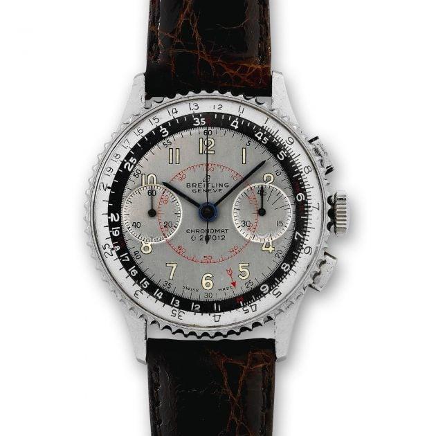 Breitling Chronomat z lat 60. XX w. / foto: Antiquorum
